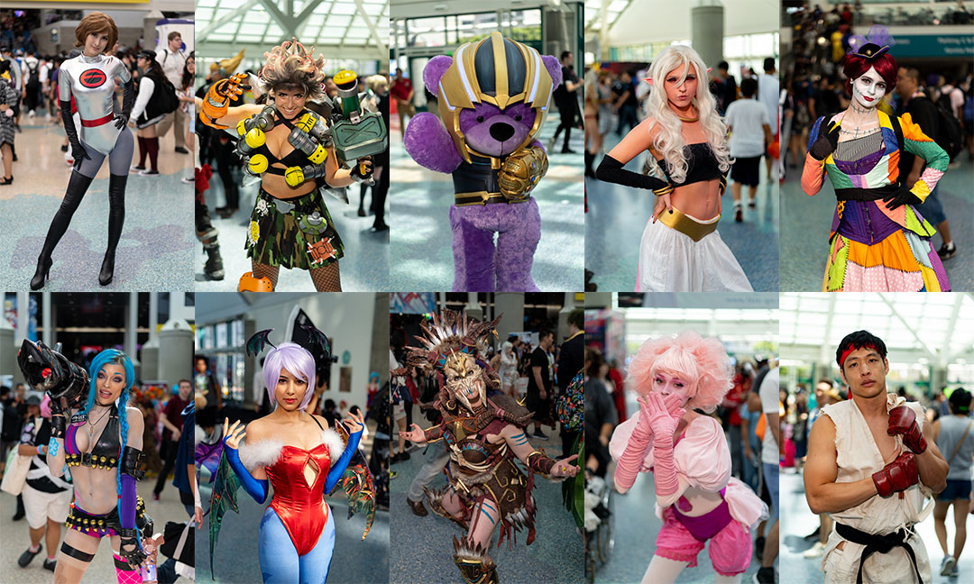 Anime Expo Cosplayers Set 2