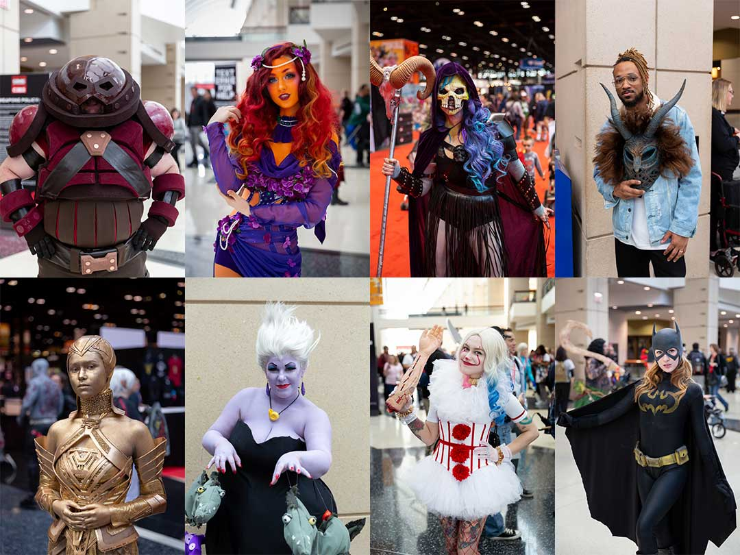 2018 C2E2 Cosplay Collage
