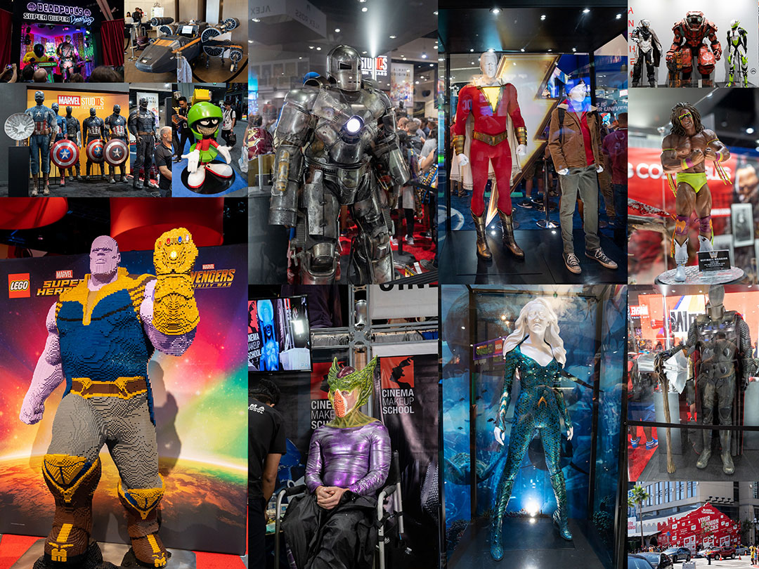 San Diego Comic Con 2018 Misc Collage