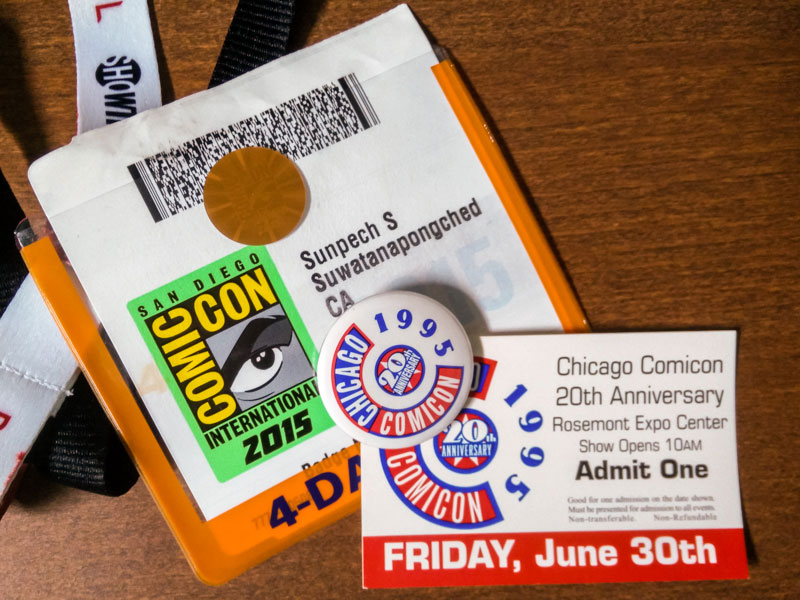 20 years of Comic Conventions