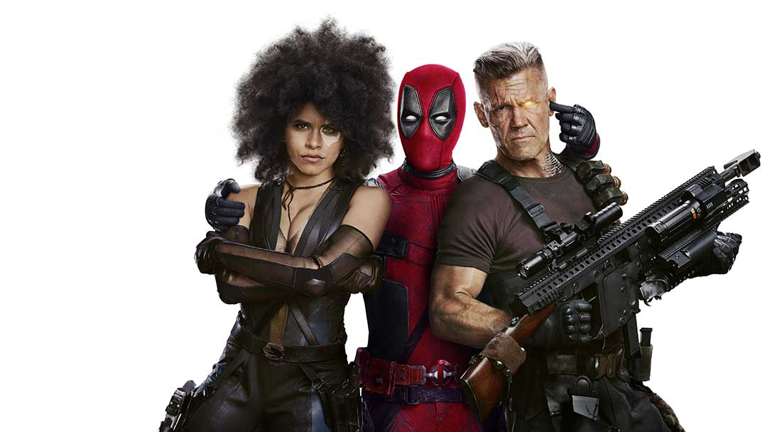 Domino, Deadpool, and Cable