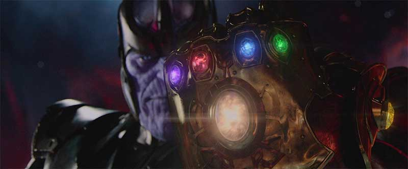 Thanos with the Infinity Guantlet