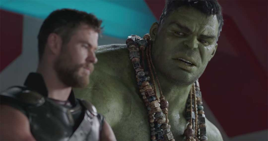 Thor and Hulk talking