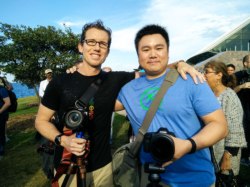 Photo with Trey Ratcliff