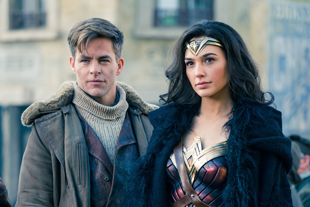 Chris Pine and Gal Gadot